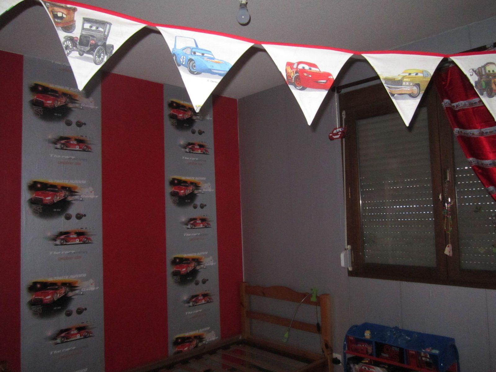decoration de chambre theme formule 1